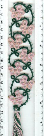 Flower Bookmark/Edging - ©1998-2009, Paradise Treasures