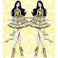 Hayden Williams Fashion Illustrations | 'Spring has Sprung' by Hayden Williams: Look 4