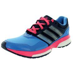 best cheap 0fca1 a05f5 Adidas Womens Response Boost 2 Techfit Running Shoe (7), Blue Adidas  Response,