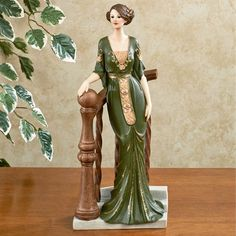 Her ladyship MaryAnne stands waiting at the bottom of a scrolling staircase in this vintage lady figurine. She waits for her suitor to take her for a stroll through their Yorkshire countryside estate. Cold Porcelain Jewelry, China Porcelain, Painted Porcelain, Porcelain Ceramics, Porcelain Dolls Value, Doll Tattoo, Beautiful Fantasy Art, Painted Books, China Painting
