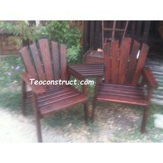 Fotolii din lemn Outdoor Chairs, Outdoor Furniture, Outdoor Decor, Exterior, Design, Home Decor, Decoration Home, Room Decor, Garden Chairs