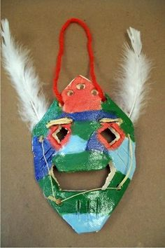 West African Masks - Artsonia Lesson Plan