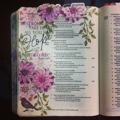 Had fun with a Stampin Up stamp set and prismacolor pencils for this one with a clear sticker for the verse. Bible Drawing, Bible Doodling, Scripture Art, Bible Art, Bible Study Journal, Art Journaling, Bibel Journal, Bible Illustrations, Jesus Art
