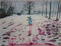 Anselm Kiefer (German, b. 1945), Eis und Blut [Ice and Blood], 1971.                                                                                                                                                                                 More