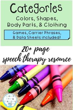 back to the basics with addressing vocabulary through games, hands on activities, repetition, and movement. Carrier phrases are provided to increase one word responses to short phrases and sentences. Preschool Speech Therapy, Vocabulary Activities, Speech Therapy Activities, Hands On Activities, Preschool Activities, Increase Vocabulary, Phrases And Sentences, My Future Job, Early Childhood Activities