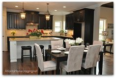 model home kitchens | SR Homes Selects Our Atlanta Home Staging Services – Home Stager in ...