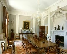 historic english country style dining rooms | english architecture