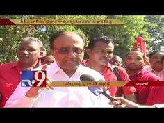 CPI Suravaram Sudhakar Reddy on Aakrosh Diwas over demonetisation - TV9