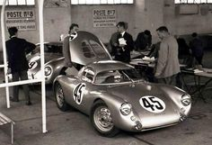 1953 LeMans Porsche 550 Coupe