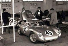 1953 LeMans Porsche 550 Coupe