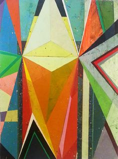 Jason Rohlf * Transitions #1, Acrylic on linen, 24 x 18