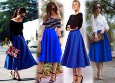 Simple Summer to Spring Outfits to Try in 2019 – Prettyinso Simple Fall Outfits, Chic Winter Outfits, Fall Fashion Outfits, Skirt Fashion, Spring Outfits, Fashion Dresses, Midi Rock Outfit, Midi Skirt Outfit, 50s Outfits