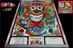 Alvin G. and Company at Modern Pinball NYC! Punchy The Clown Pinball! A rare treat! Kids and adults LOVE this one!