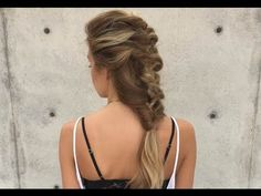 Topsy Tail Mermaid Hairstyle - YouTube