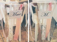 Chaises pour S, papa, maman...Les moineaux de la mariée: ♥ Charline & Alex (FR) ♥ - Vrai mariage