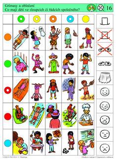 LOGICO PICCOLO | Obsahové vnímání - Vzájemnosti a odlišnosti | Didaktické pomůcky a hračky - AMOSEK