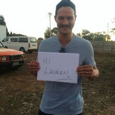 """Adorable Jamie Pic from the set of """"The Siege of Jadotville."""" #jamiedornan #christiangrey #ameliawarner #jamelia #fiftyshades #fiftyshadesofgrey #fiftyshadestrilogy #fiftyshadesdarker #fiftyshadesfreed #thefall #paulspector #onceuponatime #sheriffgraham #dakotajohnson #jadotville #thesiegeofjadotville #southafrica"""