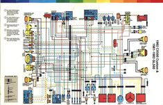 gold wing parts likewise 1979 honda goldwing wiring diagram on