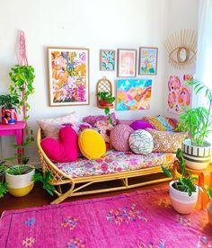 Home Design, Interior Design, Interior Office, Colourful Living Room, Stylish Home Decor, Indian Home Decor, Home And Deco, Eclectic Decor, Colorful Decor