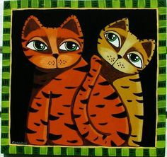 Art: STRIPES  by Artist Cindy Bontempo (GOSHRIN)