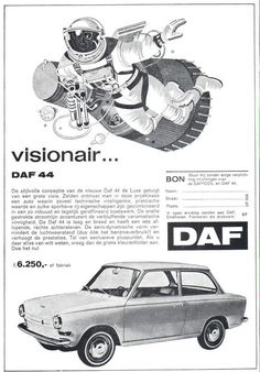 Old Advertisements, Car Advertising, Eindhoven, Retro Cars, Vintage Cars, Volvo, Mini Trucks, Small Cars, Old Cars