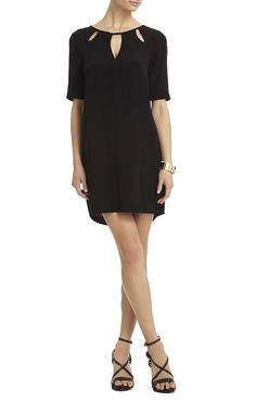 Rosetta Dress With Cutouts | BCBG