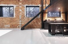 Image 6 of 17 from gallery of Photographic Studio in Warsaw / Mess Architects. Photograph by Szymon Swietochowski Casa Loft, Loft House, Car Shed, Studio Apt, Apartment Goals, Adaptive Reuse, Air B And B, Open Office, Ground Floor Plan