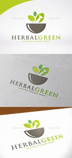 Herbal Pharma Logo Template by BossTwinsMusic - Three color version: color, greyscale and single color.- The logo is 100% resizable.- You can change text and colors very easy u