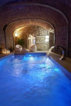 Indoor pool arabian concept