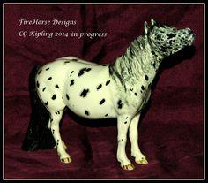 In Progress Kilbourne Kipling pony. July 2014