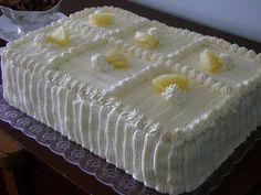 Icecream Cake I hope you enjoy it - Orchid Sweet Recipes, Cake Recipes, Dessert Recipes, Food Cakes, Cake Icing, Eat Cake, Chocolates, Pineapple Cake, Icebox Cake