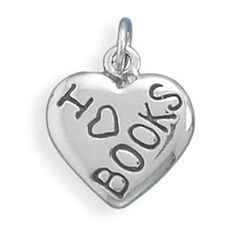 I Love BOOKS Charm >>> Visit the image link more details. (This is an affiliate link and I receive a commission for the sales)