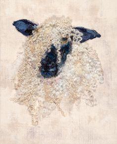 Sheep - Art In Textiles Wet Felting, Needle Felting, Textile Fiber Art, Textile Artists, Art Floral, Ornament Pattern, Wooly Bully, Sheep Art, Felt Pictures