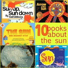 Storytime: 10 Books About the Sun ~ Creative Family Fun