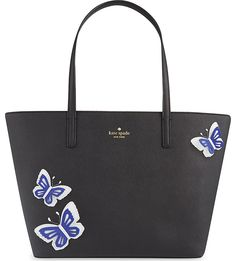 Small Harmony butterfly leather tote