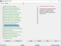 DoNotSpy10 – Configure Windows 10 Privacy settings by Martin Brinkmann on August 5, 2015 in Windows - Last Update: August 6, 2015