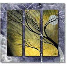Megan Duncanson 'Moon Light' Metal Wall Art - Overstock Shopping - Big Discounts on ALL MY WALLS Metal Art