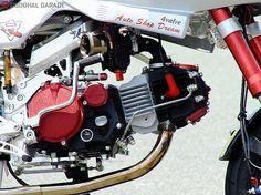 Katana-inspired Honda Monkey From Auto Shop Dreams http://goodhal.blogspot.com/2013/03/katana-monkey.html #AutoShopDreams #Honda #Monkey