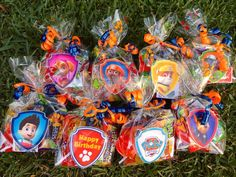 8 Filled Nick Jr Paw Patrol Party Favor Gift Bag Birthday Toys Loot Goody Treat #Nickelodeon