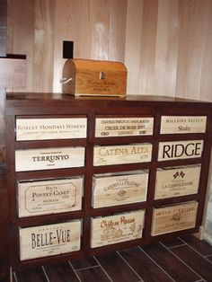 Wine Crates Design Ideas, Pictures, Remodel, and Decor - page 2
