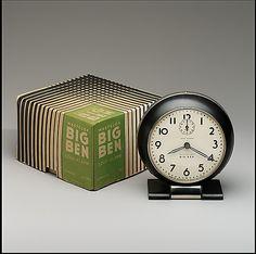 1938 Big Ben alarm clock, designed by Henry Dreyfuss. (Metropolitan Museum of Art)