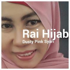 Tutorial Hijab Dusty Pink Syari By Rai