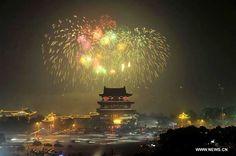 Fireworks light up sky to celebrate Spring Festival[1]- Chinadaily ...