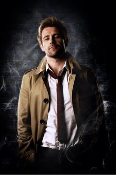A first official look at Matt Ryan as John Constantine. Can't wait for the new show!