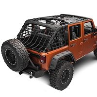 Barricade Complete Netting Kit 07 15 Wrangler Jk 4 Door
