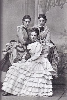 Dagmar, Alexandra, and Thyra