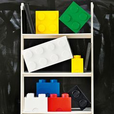 Lego Storage: too cute for a kids' bedroom! #parenting #interiors #lego