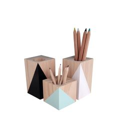 *Available through selected stockists*Funky wooden Pencil Holders, great for home, office or kids spaces available in a range of colours.Available in Short 7cm or Tall 12cmAvailable in :Black, White, Charcoal, Mint, Lime Zest, Gold, Copper, Yellow, Neon Pink, Pastel Pink, Lemon, Peach,Turquoise