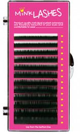 59e603a723f 0.15mm Mink Mixed Tray eyelash extensions from Secret Lashes UK C Curl,  Long Lashes