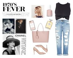 """""""VINTAGE #2"""" by outfit-stagram on Polyvore featuring mode, Luxo, Genetic Denim, Valentino, Gucci, Chanel, Casetify, Essie en vintage"""
